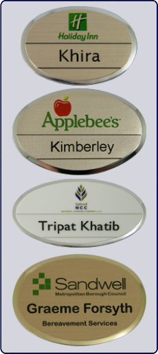 Reusable Staff Name Badges